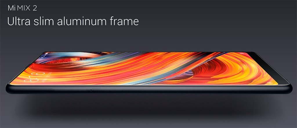 Новый Xiaomi Mi MIX 2: экран занимает 93% фронтальной панели