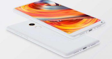 Новый безрамочный смартфон Xiaomi Mi MIX 2 официально