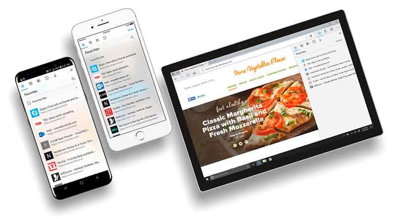 Браузер Microsoft Edge вышел на Android и iOS