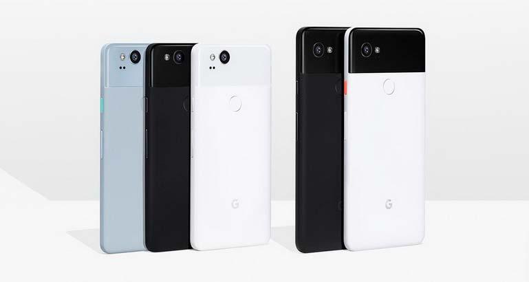 Новые смартфоны Google Pixel 2 и Pixel 2 XL