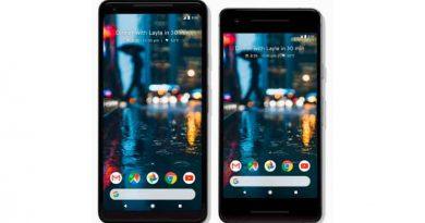 Новые смартфоны Google Pixel 2 и Pixel 2 XL официально