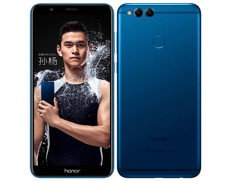Huawei Honor 7X: новый металлический смартфон