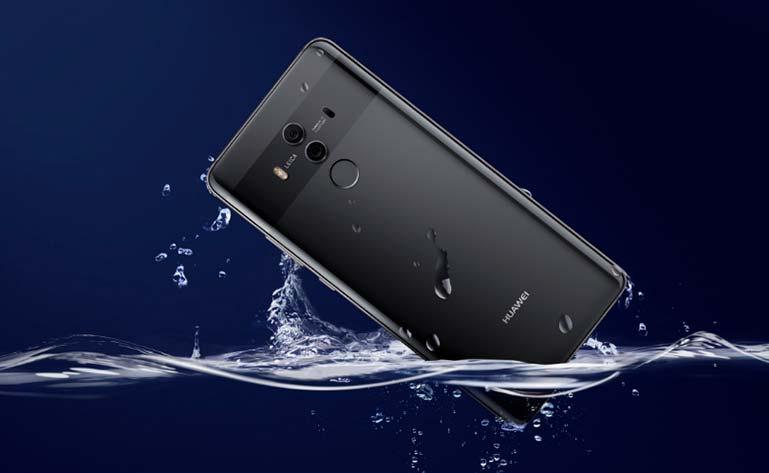 Huawei Mate 10 Pro: водозащита IP67