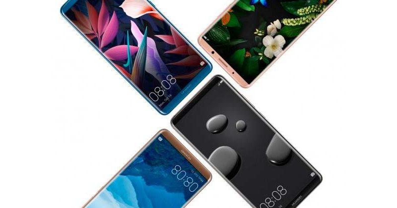 Вышли флагманские смартфоны Huawei Mate 10 / Mate 10 Pro