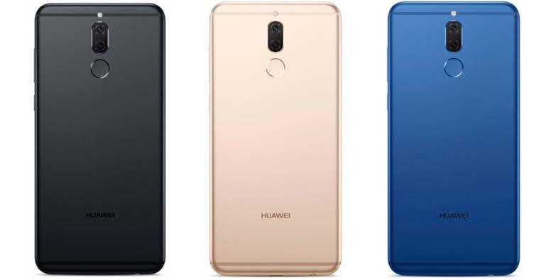 Huawei Nova 2i: чёрный, золотистый и синий