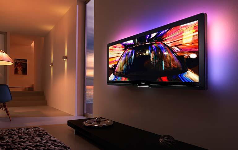 Современный LED-телевизор