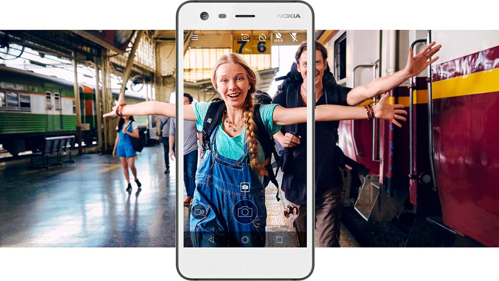 Nokia 2: съемка на обе камеры сразу в режиме Bothie