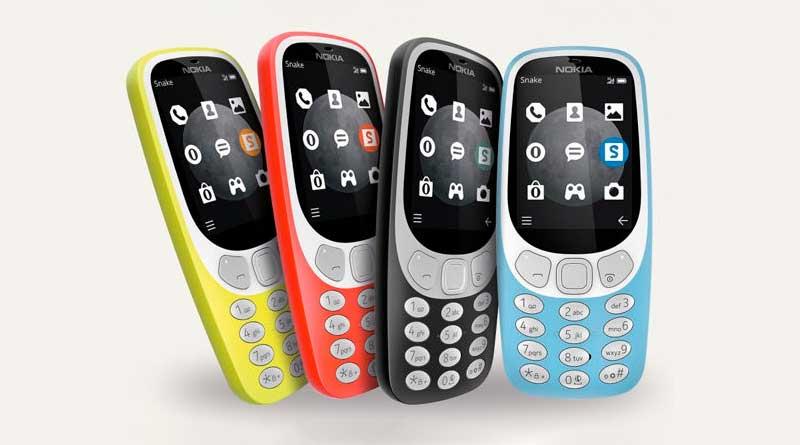 Новая Nokia 3310 вышла в 3G-версии