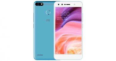 ZTE Blade A3: новый дешевый телефон со сканером отпечатков