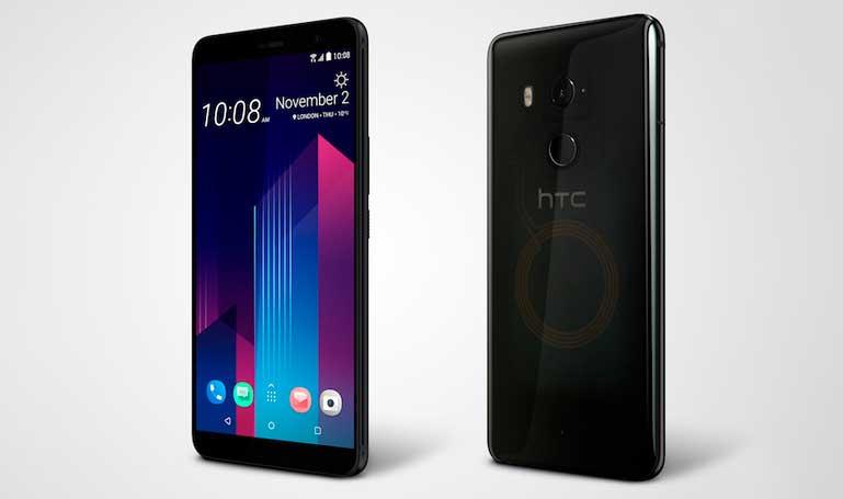 Стеклянный смартфон HTC U11+