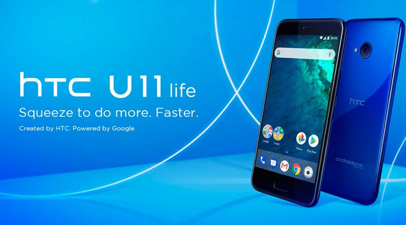 HTC U11 Life: стеклянный смартфон среднего уровня