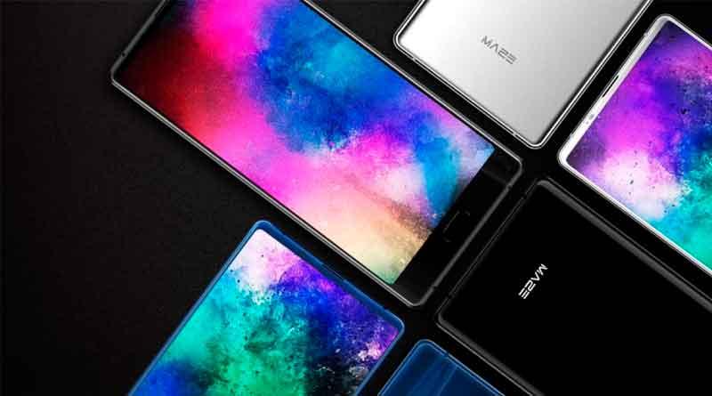Maze Alpha X: бюджетный безрамочный смартфон с 6 ГБ ОЗУ