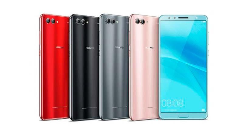Huawei выпустил стеклянный смартфон Nova 2s