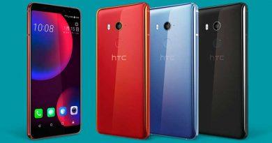 HTC выпустила смартфон с функцией распознавания лица U11 EYEs
