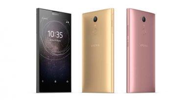 Вышли новые смартфоны Sony Xperia XA2, XA2 Ultra и L2
