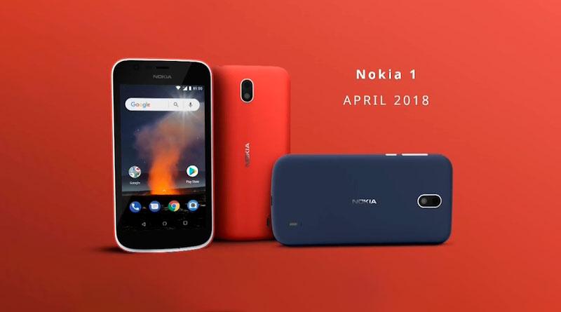 Вышел дешевый смартфон Nokia 1 на Android Go