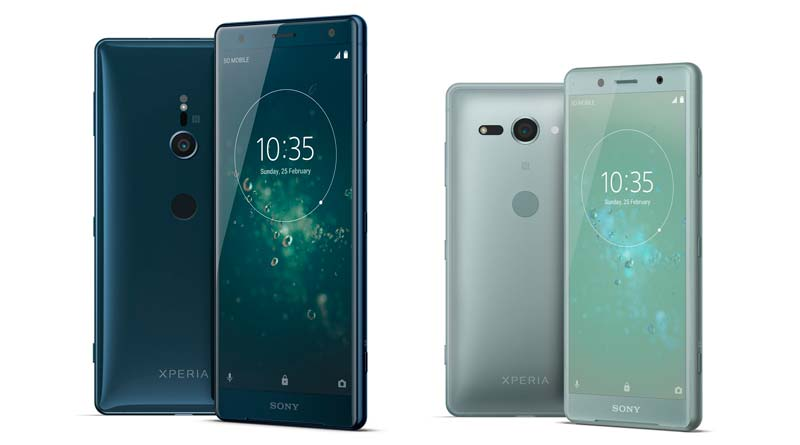 Вышли новые флагманские смартфоны Sony Xperia XZ2 и XZ2 Compact