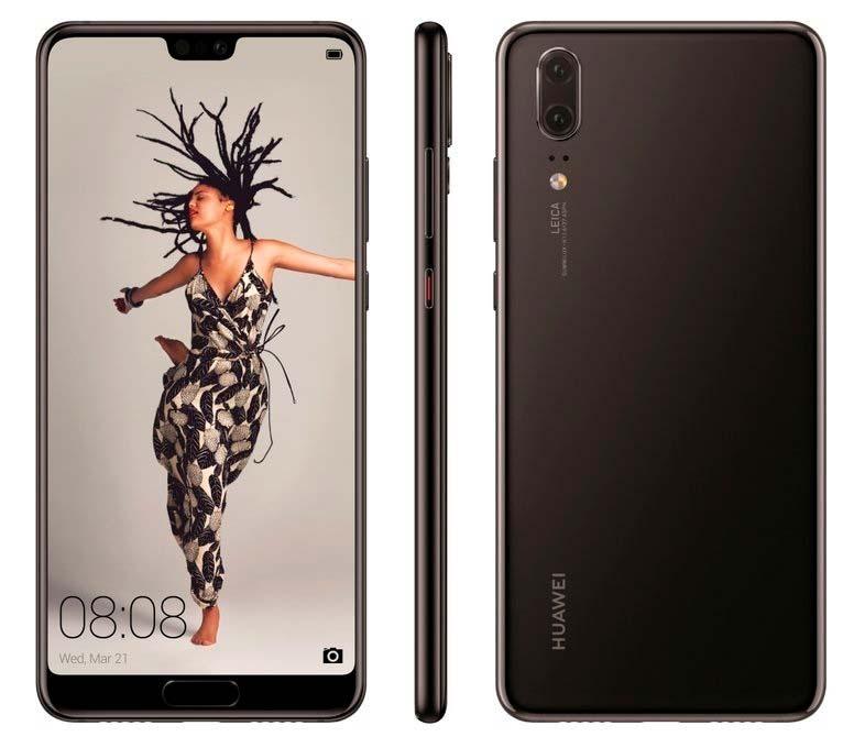Huawei P20 и P20 Pro. Цена €649 и €899