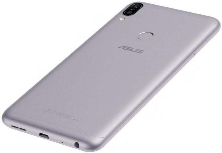 ASUS ZenFone Max Pro M1 серебристого цвета