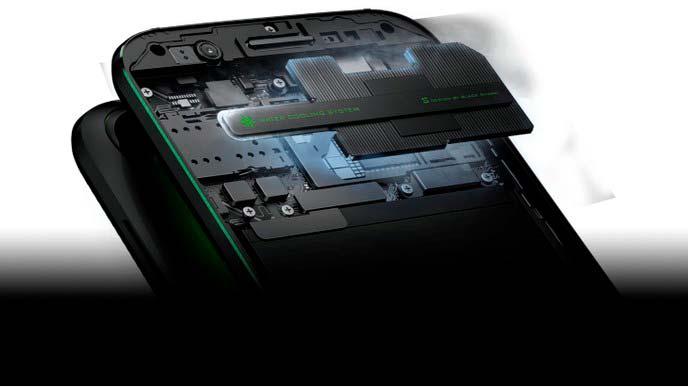 Геймерский смартфон Xiaomi Black Shark. Процессор Snapdragon 845