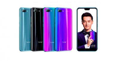Флагманский смартфон Huawei Honor 10 вышел официально