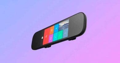 Xiaomi показала новое умное зеркало заднего вида