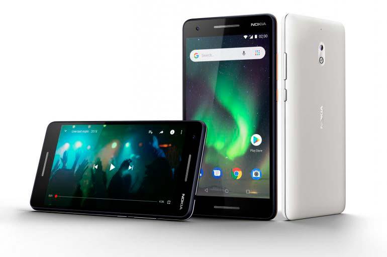 Nokia 2.1 - дешевый смартфон 2018 года
