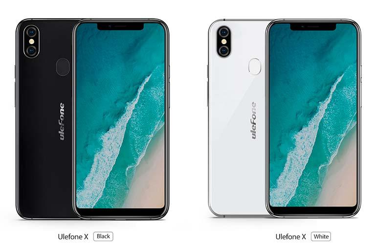 Ulefone X - китайский клон iPhone X по цене $199