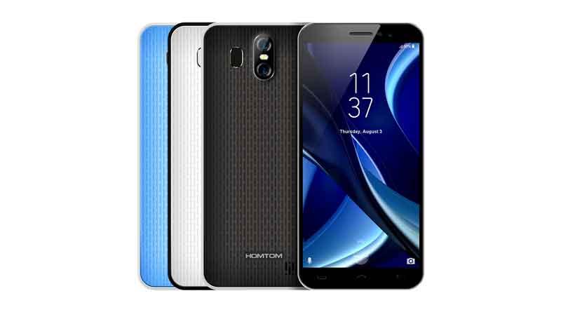 Homtom - производитель недорогих смартфонов
