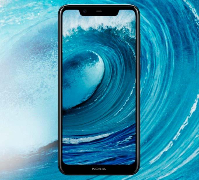 Nokia X5 - экран диагональю 5,86-дюймов