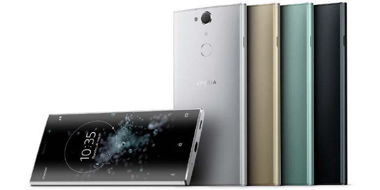Sony Xperia XA2 Plus - смартфон с экраном камерой 23-Мп
