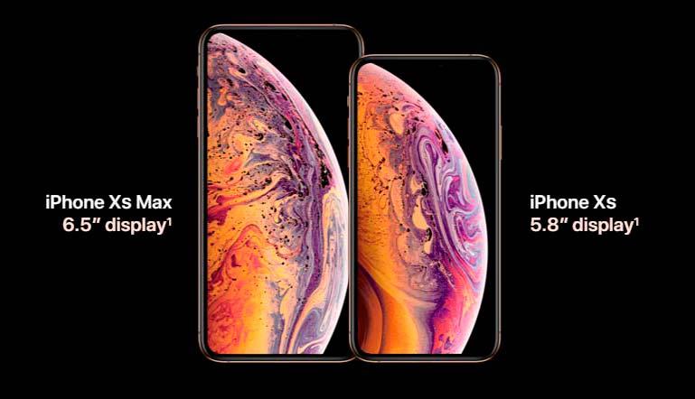 Новые смартфоны Apple iPhone Xs и iPhone Xs Max