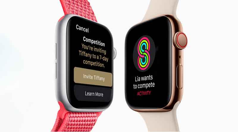 Новые смарт-часы Apple Watch Series 4 официально