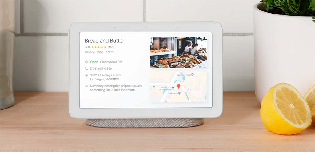 Google Home Hub - смарт-дисплей с голосовым ассистентом