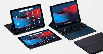 Премиальный планшет Google Pixel Slate на Chrome OS официально