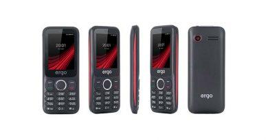 ERGO F249 — новый кнопочный телефон всего за 340 грн