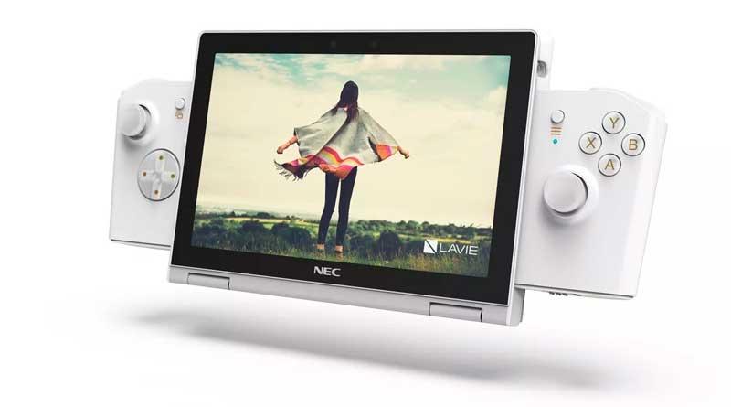Lenovo представила портативный компьютер для игр LaVie Mini