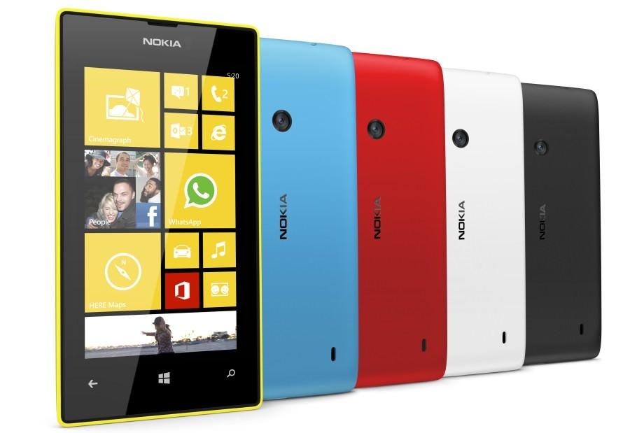 Бюджетный смартфон Nokia Lumia 520 продается лучше флагманов