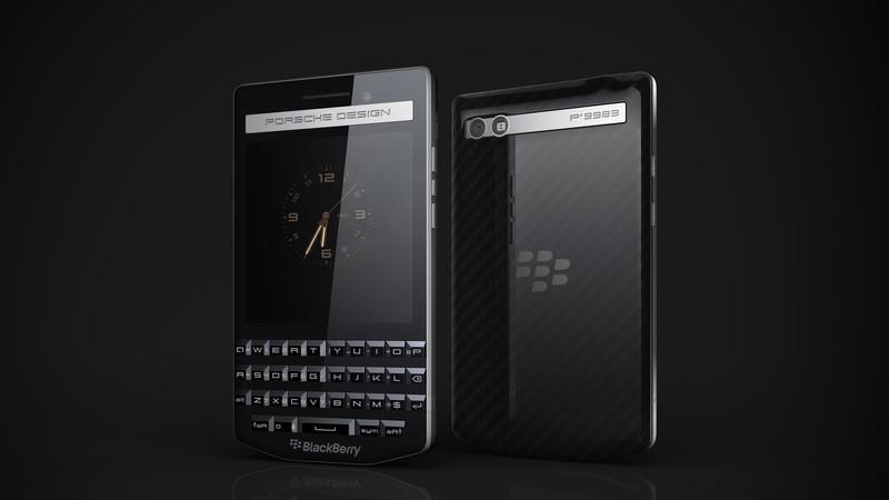 BlackBerry Porsche Design P9983: стильный смартфон