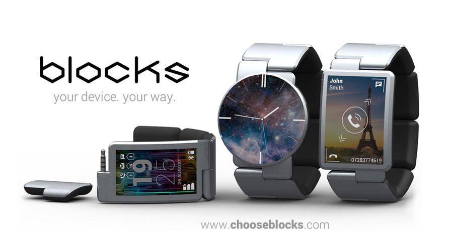 Скоро выйдут первые модульные умные часы Blocks | цена