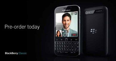Открылся предзаказ на BlackBerry Classic | цена, обзор