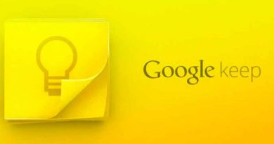 Приложение Google Keep: теперь можно делиться заметками