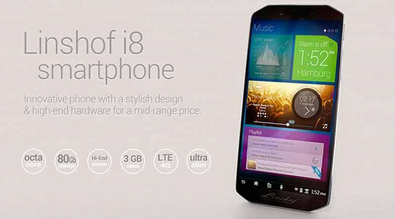 Linshof i8: первый немецкий смартфон на Android | цена