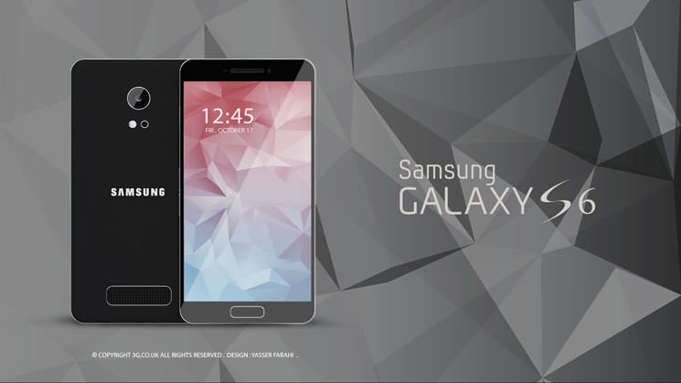 Samsung Galaxy S6 Black HQ
