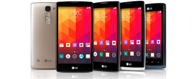LG показал новые Magna, Spirit, Leon и Joy на Android 5.0
