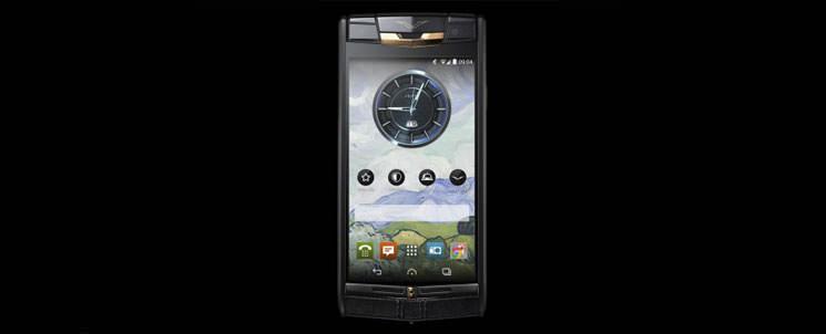Новый элитный смартфон Vertu Signature Touch | цена, инфо