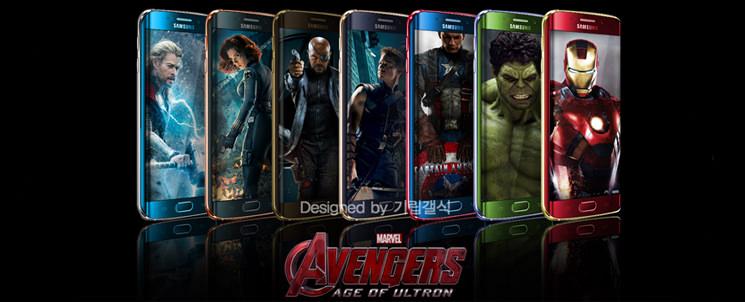 Samsung посвятила серию GALAXY S6 Edge супергероям Marvel
