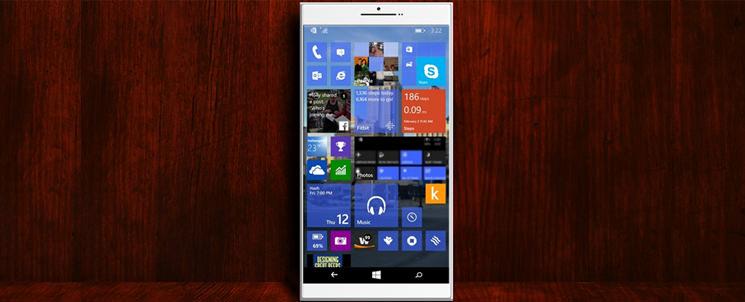 Shine - концепт флагмана на Windows 10