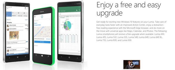 Компания Microsoft: Windows 10 Mobile выйдет в ноябре   инфо
