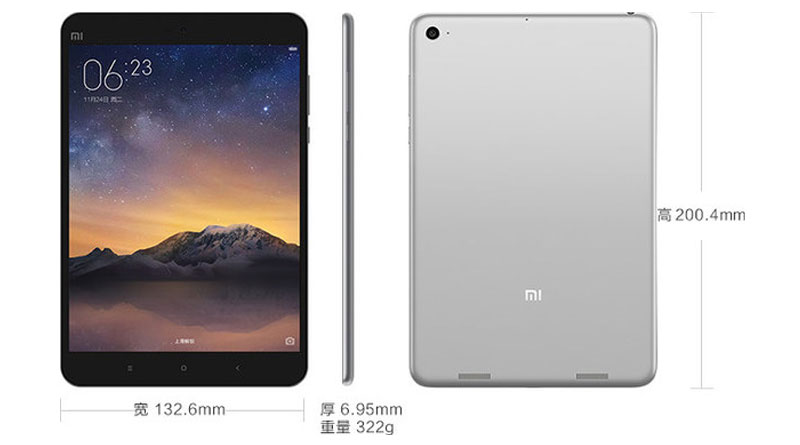Xiaomi Mi Pad 2 на Windows 10 Mobile